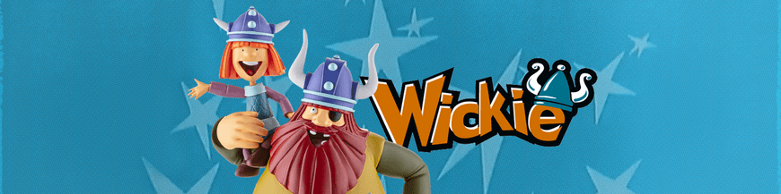Vicky the Viking collectible comics figurines