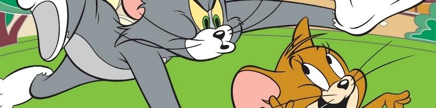 Figuras de dibujo animado Tom y Jerry