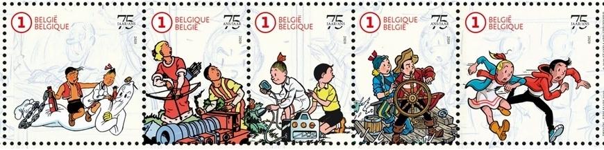 Figuras de cómics Bob y Bobette