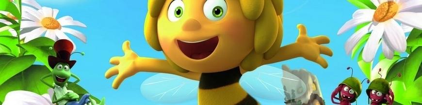 Figuras de dibujo animado La abeja Maya