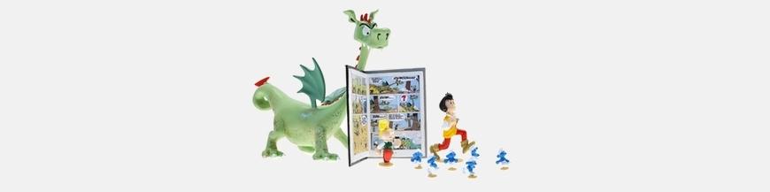 Figuras de cómics Johan y Pirluit