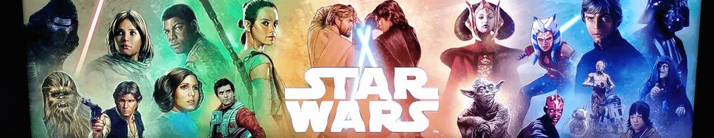 Figuras y objetos exclusivos de ciné Star Wars
