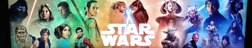 Star Wars figurines and exclusive items