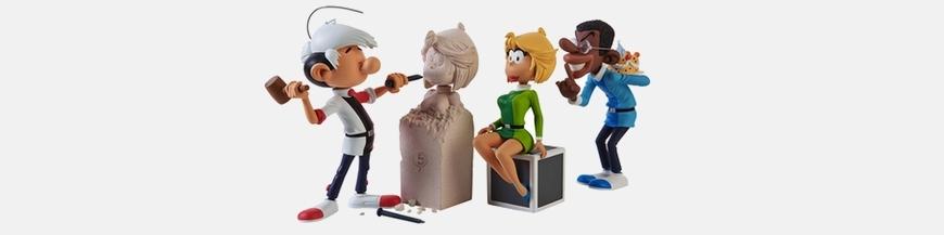 The Little Men Comics figurines