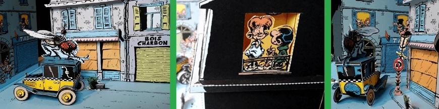 Comics collectible dioramas