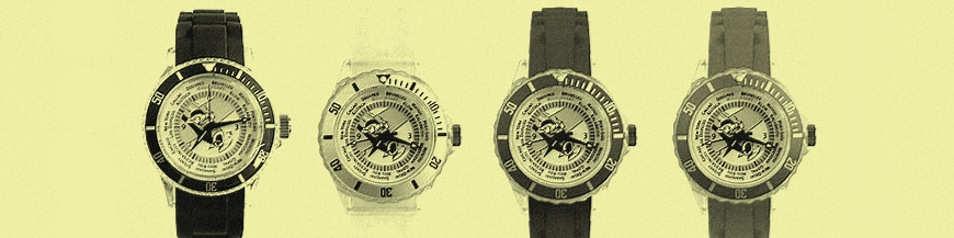 Watches and alarm clocks